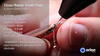 Close or Repair 0.24mm Silver Chain - Jewelry Welding