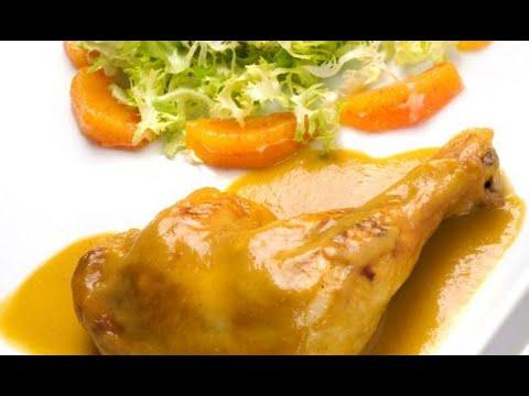 Receta De Muslos De Pollo A La Naranja Karlos Arguiñano Youtube