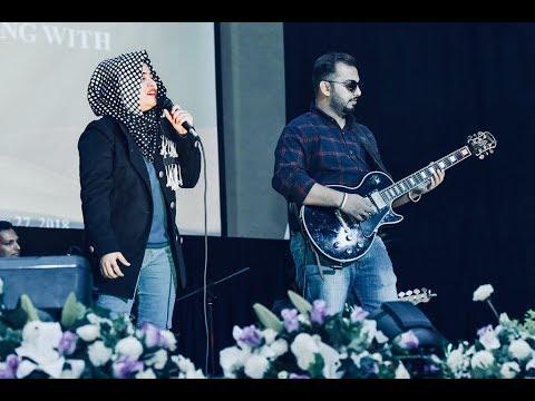 Tere bin sanu soniya by Sawaal Band (Iqra Arif & Faraz Siddiqui) live concert at PPW Dubai