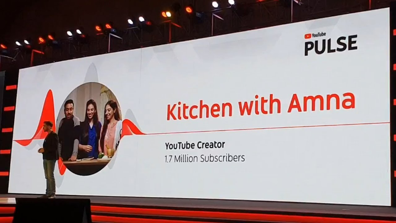 YouTube Pulse First time in Pakistan and Launch Kitchen With Amna Story - YouTube