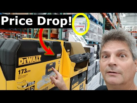 Costco LIVE! Pre Black Friday Deals Dewalt SET LOWERED PRICE