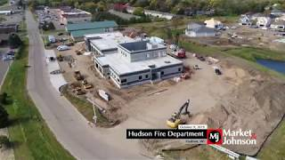 Hudson Fire Department Aerial 10.9.19