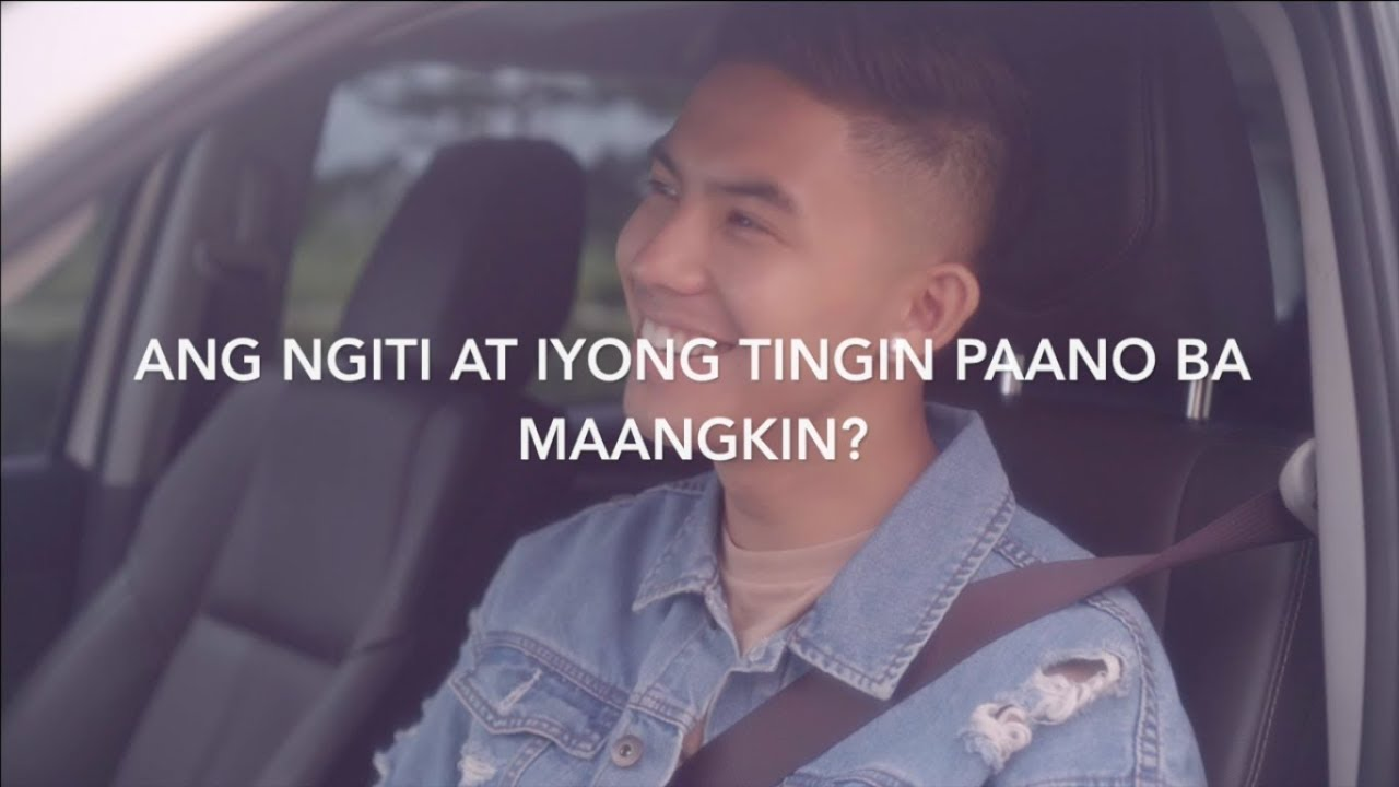 LYRIC VIDEO: Tanging Ikaw  by Tony Labrusca