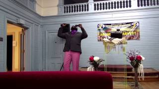 Prophet Diallo Praying for former-rain to soften hardened land for Church Planting