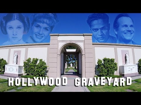 FAMOUS GRAVE TOUR - Forest Lawn Hollywood #4 (Carrie Fisher, Debbie Reynolds, etc.)