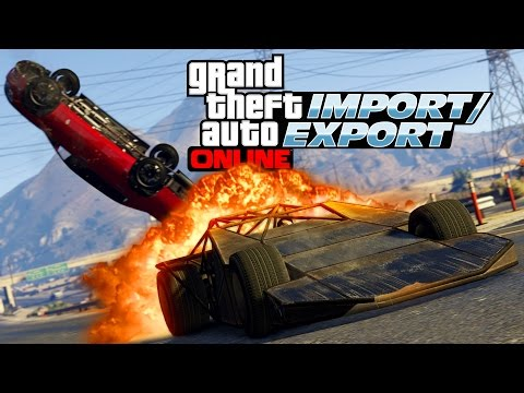 GTA 5 Online Import and Export FAST AND FURIOUS DLC