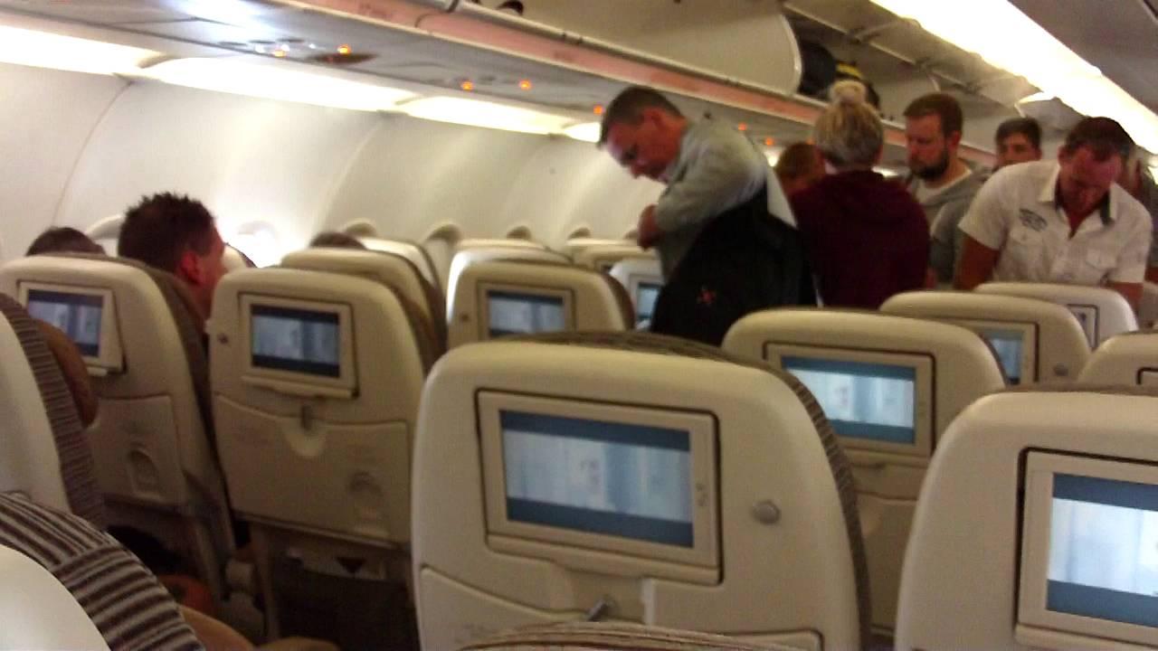 ETIHAD AIRWAYS AIRBUS A320-200 (WL) ECONOMY CABIN