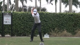 Harris English 2013 Driver Golf Swing - Face On & Slow Motion  - 1080p Hd