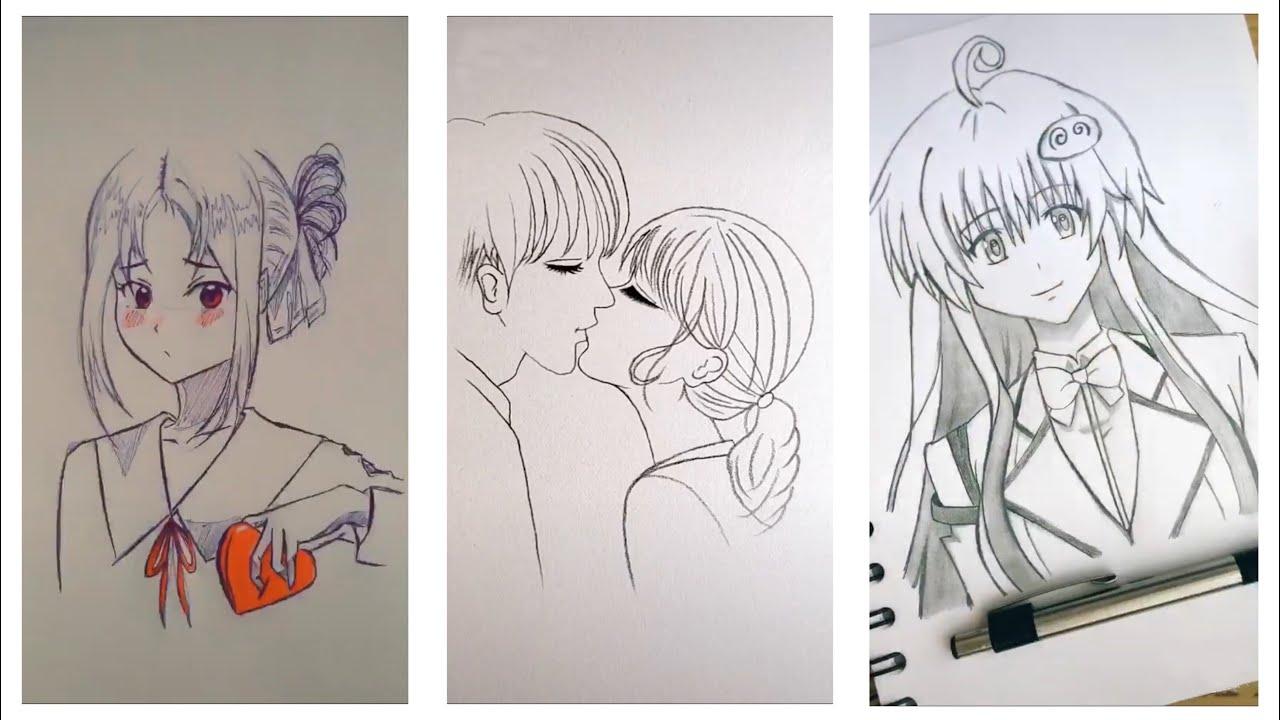 Tik Tok ❤️ Khi DÂN VẼ Tik Tok Xuất Chiêu Vẽ Anime Cực Cute || Vẽ Tranh Tik Tok Trung Quốc