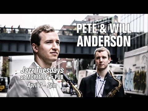 Jazz Tuesdays With Pete And Will Anderson, Felix LeMerle, Jim Alfredson, Jeff Shoup (4/3/18)