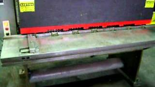Herr Voss 2CT48 High Speed 10 Gauge Shear for sale at alecomachinery.com