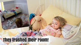 MOVING OUR TWINS TO THEIR TODDLER BEDS | VLOG 96 | Nesting Story
