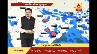Skymet Report: Weather Forecast Of 25th June, 2018 | ABP News
