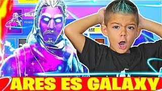 ARES ES GALAXY EN FORTNITE!!! Solitario en PS4