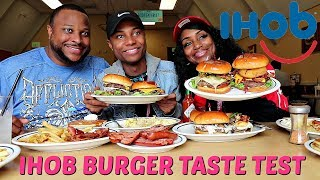 IHOB MUKBANG - Trying All the Burgers