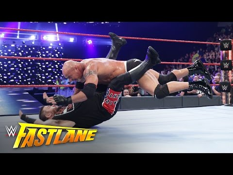 Kevin Owens vs. Goldberg - Universal Title Match: WWE Fastlane 2017 (WWE Network Exclusive)