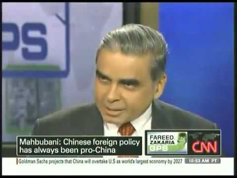 Kishore Mahbubani on Chinese Foreign Policy