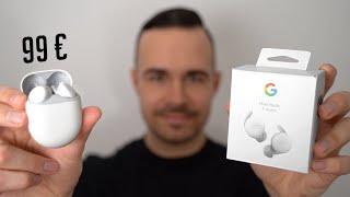 Nur 99€ - Google Pixel Buds A Series Unboxing & Erster Eindruck (Deutsch)   SwagTab