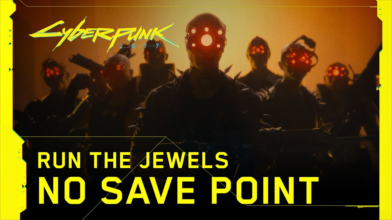 Get down with dark future vibes in Run The Jewels' Cyberpunk 2077 music video