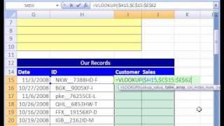 Excel Magic Trick # 155: VLOOKUP & TRIM function