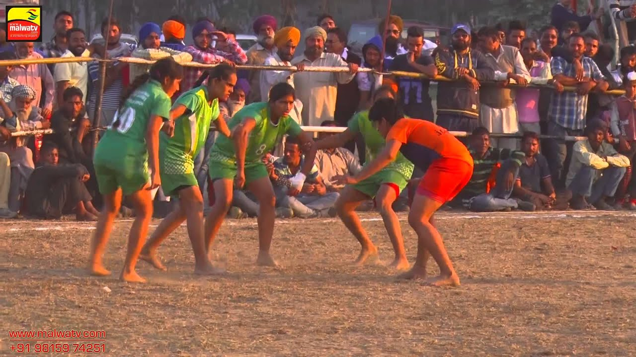 DASUYA (Hoshiarpur) | KABADDI CUP - 2015 | GIRLS SHOW MATCH | Full HD |