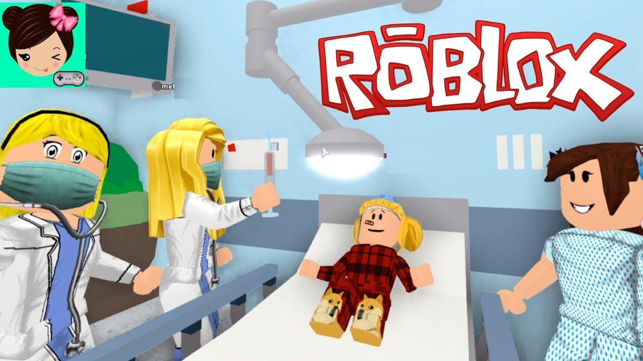 Mi Bebe Goldie Va Al Hospital En Roblox