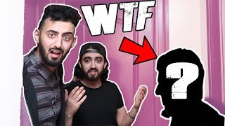 WE CAUGHT HIM HIDING IN OUR HOUSE!