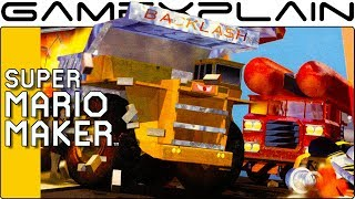 Blast Corps N64 in Super Mario Maker (Two Years in the Making!)