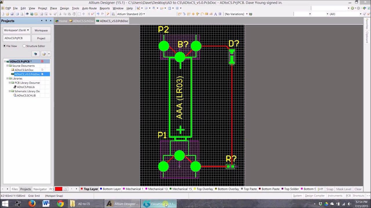 Importing Altium Designer PCB files to Circuit Studio