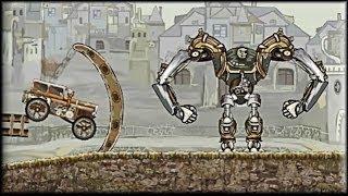 Steampunk Truck Race - Game Walkthrough (1-10 lvl)