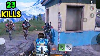 23 Kills Solo vs Squads   Call of Duty Mobile Battle Royale   COD MOBILE BATTLE ROYALE  