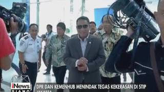 Terkait Pengeroyokan, Tim Komisi V DPR RI Mengunjungi STIP Jakut - INews Siang 13/01