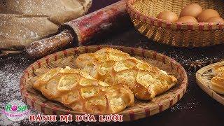 Kỹ thuật làm Bánh Mì Dừa Lưới