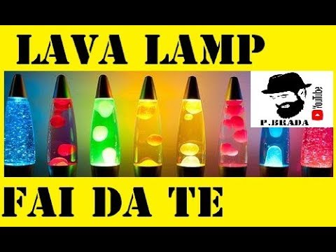 Esperimento lava lamp fai da te by paolo brada diy youtube for Coprifornelli fai da te