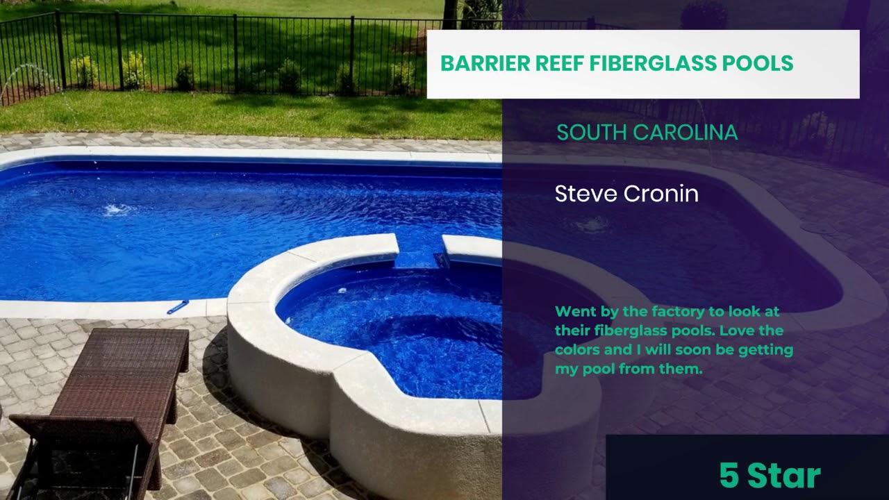 Fiberglass pool reviews by real customers | Barrier Reef Fiberglass Pools