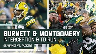 Russell Wilson Gets Picked Off & Ty Montgomery Capitalizes with TD! | NFL Week 14 Highlights
