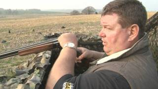 George Digweed shoots crows in Sussex