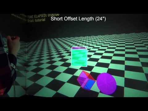 Evaluation of 3D Virtual Cursor Offset Techniques for Navigation Tasks