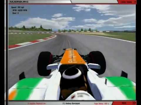RFactor F1 2012 Nürburgring