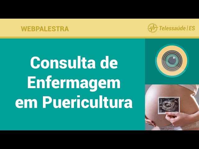WebPalestra: Consulta de Enfermagem em Puericultura [Tele Enfermagem]