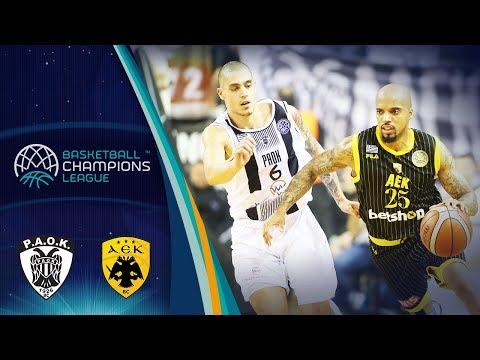 PAOK v AEK - Highlights - Rd. of 16 - Basketball Champions League 2018-19