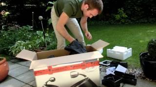 Philips DS9800W Fidelio SoundSphere im Unboxing
