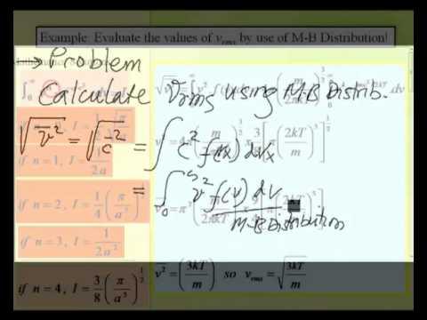Jaslin Ikhsan: Maxwell-Boltzmann Distribution Part 2