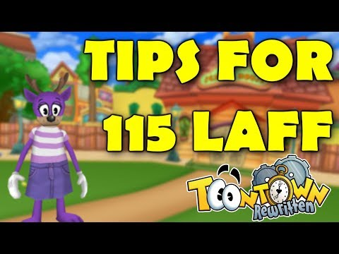 Laff-O-Lympics: Quick Guide To Getting 115 Laff (Toontown Rewritten)