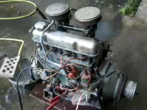 Volvo Penta B18 Marine Engine Cold Start