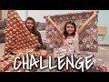 GIFT WRAPPING CHALLENGE FOR CHRISTMAS! VLOGMAS