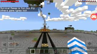 Mcpe Survival Games Episode 4: HACKER IN LIFEBOAT?!
