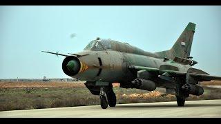 النظام يخلي مقاتلاته من مطاري الضمير والسين. ويخلي مطار حماة العسكري من العناصر الروس والإيرانيين