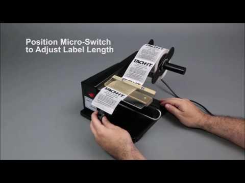 Semi Automatic Label Dispenser