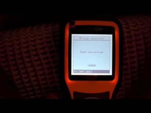 How to use OBDSTAR X300M for Odometer Correction of 2008 Porsche Cayenne